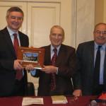 con Alessandro Barbero e Tonino Carafa