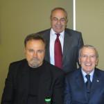 con Franco Nero e Tonino Carafa