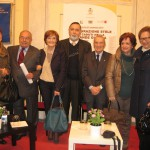 con Romano Ugolini e altri all'inaugurazione stele Caduti
