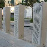 Stele con i nomi dei Caduti di San Severo nella Grande Guerra