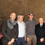 Con Franco Gravino, Antonio D'amico, Franco Nardella