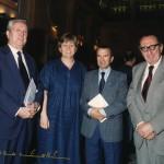 Con Giuseppe Talamo, Maria Nardella e Raffaele Colapietra